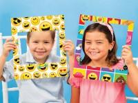 Parti Yıldızı - Emojiler Fotoğraf Çekme Çerçevesi 3 Adet