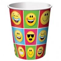Parti Yıldızı - Emojiler Partisi 8 li Bardak