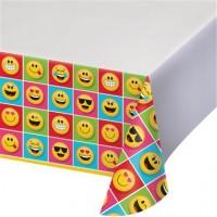 Parti Yıldızı - Emojiler Partisi Masa Örtüsü