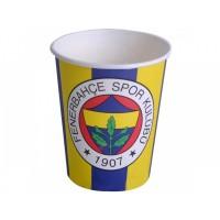 Parti Yıldızı - Fenerbahçe 8 li Karton Bardak