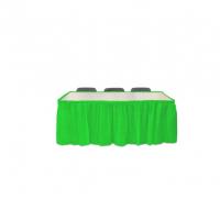 Parti Yıldızı - Fıstık Yeşili Masa Eteği