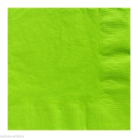 AMSCAN - Fıstık Yeşili Rengi Peçete 33x33cm