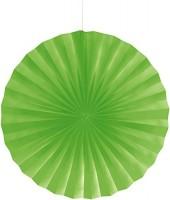 Parti Yıldızı - Fıstık Yeşili Yelpaze Süs (40 CM)