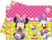 Parti Yıldızı - Fiyonklu Minnie Masa Örtüsü