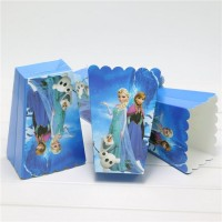 Parti Yıldızı - Frozen 10lu Popcorn Kutu