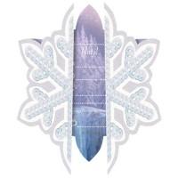 Parti Yıldızı - Frozen Ice Skating 6 lı Davetiye