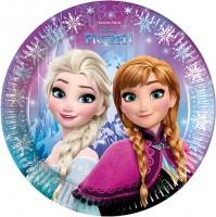 Parti Yıldızı - Frozen Northern Lights Tabak
