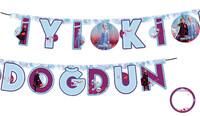 PD - Frozen2 İyiki Doğdun Banner Kişiselleştirilebilir