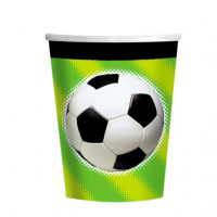 AMSCAN - Futbol Partisi Bardak 8 Adet