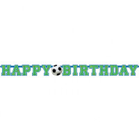 AMSCAN - Futbol Partisi Harf Afiş 130x10.2 cm