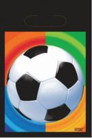 AMSCAN - Futbol Partisi Hediye Poşeti 8 Adet