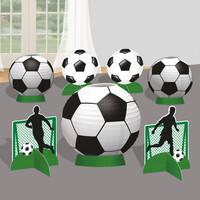 Parti Yıldızı - Futbol Partisi Masa Dekor Kiti