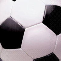 AMSCAN - Futbol Partisi Peçete 33x33cm 16 Adet