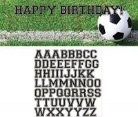 Parti Yıldızı - Futbol Topu İsim Yazılabilen Dev Afiş
