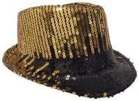 Parti Yıldızı - Gold Şık Şapka