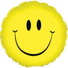 Gulen Yuz Emoji Folyo Balon Folyo Balonlar Parti Yildizi