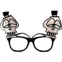 Parti Yıldızı - Halloween Kafatası Gözlük