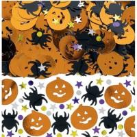 Parti Yıldızı - Halloween Masa Üzeri Metalik Konfeti