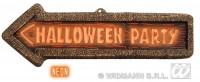Parti Yıldızı - Halloween Party Ok Asma Süs Plastik