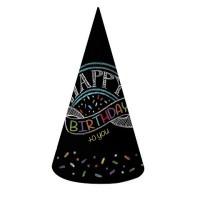 Parti Yıldızı - Happy Birthday Yetişkin Parti Şapkası