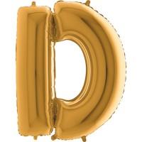 GRABO - Harf Balon D Harfi Gold - 100 CM