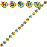 Parti Yıldızı - Harika Kanatlar Harf Afiş