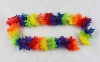 Parti Yıldızı - Hawaii Çiçeği Kolyesi Pembe