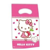Parti Yıldızı - Hello Kitty 6 lı Hediye Poşeti