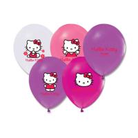 Parti Yıldızı - Hello Kitty 6 lı Latex Balon
