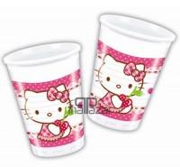 Parti Yıldızı - Hello Kitty Kalpler Bardak