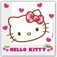 Parti Yıldızı - Hello Kitty Kalpler Peçete