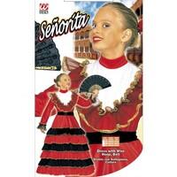Parti Yıldızı - İspanyol Kız Elbisesi 8-10 Yaş