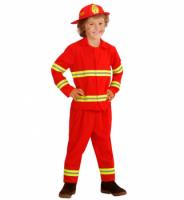 Parti Yıldızı - İtfaiyeci Çocuk Kostümü