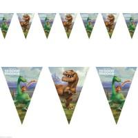 Parti Yıldızı - İyi Bir Dinozor Bayrak Afiş
