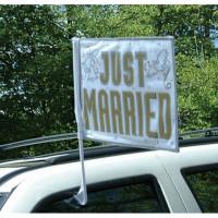 Parti Yıldızı - Just Married Bayrak