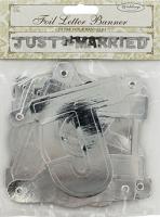 AMSCAN - Just Married Harf Afiş 129x10,7cm