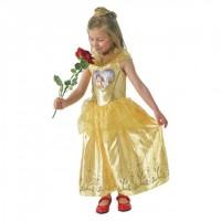 Parti Yıldızı - Kalpli Golden Belle Kostümü