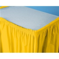 Parti Yıldızı - Kanarya Sarısı Masa Eteği
