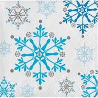 Parti Yıldızı - Kar Taneleri 16 lı Küçük Peçete