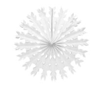 Parti Yıldızı - Kar Tanesi Yelpaze Süs 30 cm