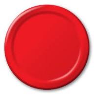 Parti Yıldızı - Kırmızı 8 li Tabak