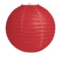 Parti Yıldızı - Kırmızı Büyük Boy Fener 30 cm 1 Adet