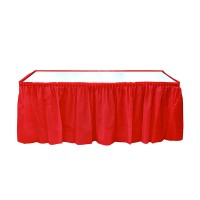 PD - Kırmızı Masa Eteği