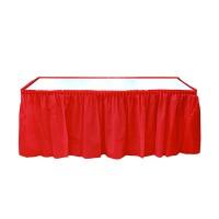 Parti Yıldızı - Kırmızı Masa Eteği