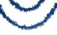 Parti Yıldızı - K.Mavi Pelür 7,65 mt. Uzunluğunda Asma Süs/Garlent