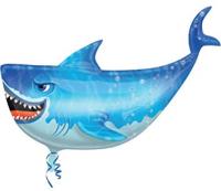 Parti Yıldızı - SShape Köpek Balığı Folyo Balon