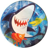 Parti Yıldızı - Köpek Balığı Tabak