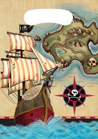 PD - Korsan Haritası Hediye Poşeti 8 li