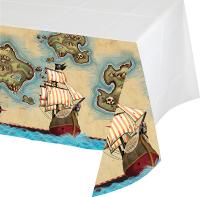 Parti Yıldızı - Korsan Haritası Masa Örtüsü