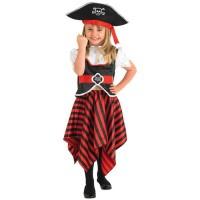 Parti Yıldızı - Korsan Kız Çocuk Kostümü